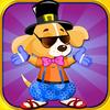 FlowMotion Entertainment: Top Free Fun Addictive Cool Games Inc - Adorable Puppy Dress-Up : Dog Care Fashion Salon PRO artwork